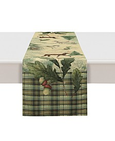 """Woodland Forest Table Runner - 13"""" x 72"""""""
