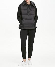 Sport Half-Zip Down Puffer Vest