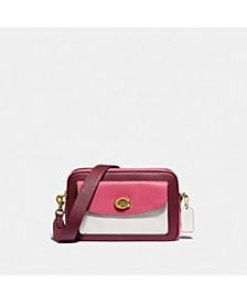 Cassie Colorblock Leather Camera Bag