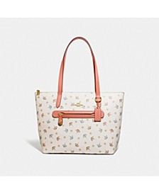 Beach Umbrella Print Taylor Tote