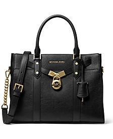 Nouveau Hamilton Leather Satchel
