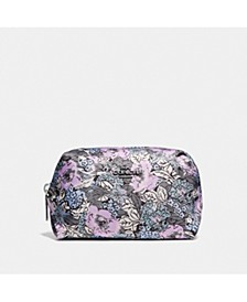 Bonnie Cashin Heritage Floral Small Boxy Cosmetic Case