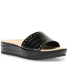 Valene Wedged Sandals