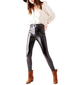 Free People Phoenix Coated Skinny Jeans