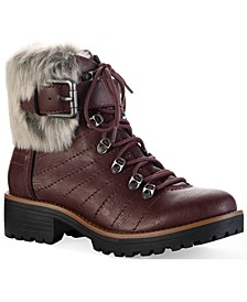 Jojo Cold-Weather Lug Sole Boots, Created for Macy's