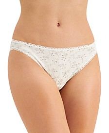 Women's Garden Bikini Underwear, Created for Macy's