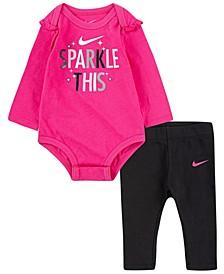 Baby Girls Bodysuit and Leggings Set