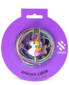 Unicorn 3-In-1 Charging Cable