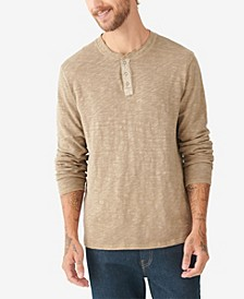 Men's Snap Henley Shirt