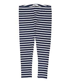 Toddler Girls Striped Basic Knit Legging