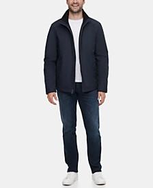 Men's Full-Zip Stand-Collar Lightweight Jacket