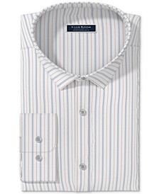 Men's Triple Fine Stripe Dress Shirt, Created for Macy's