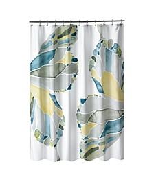 Shell Rummel Butterfly Shower Curtain