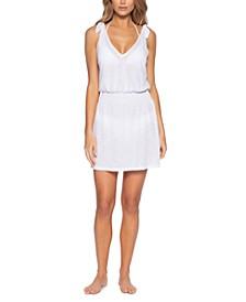 Breezy Basics Tie-Shoulder Dress Cover-Up