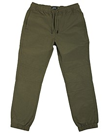 Big Boys Beartooth Moto Jogger Pants