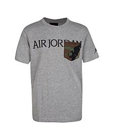 Big Boys Jumpman Classics Logo Pocket T-shirt
