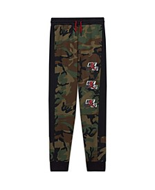 Big Boys Jumpman Classics Camo Print Fleece Pants