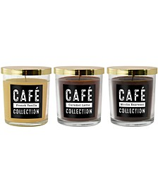 Lumabase Scented Candles - Cafe Collection - Set of 3