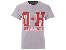 Ohio State Buckeyes Men's Throwback OHIO T-Shirt