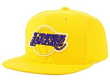 Los Angeles Lakers Team Color Neon Snapback Cap