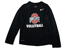 Ohio State Buckeyes Youth Core Volleyball Long Sleeve T-Shirt