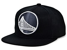 Golden State Warriors XL Black Dub Snapback Cap