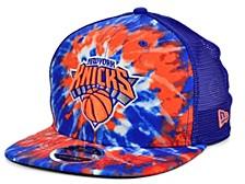 New York Knicks Tie Dye Mesh Back Cap