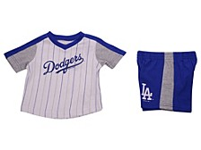 Los Angeles Dodgers Toddler Lineup Short Set