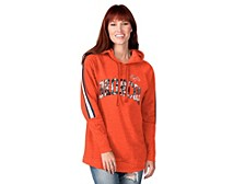 Denver Broncos Women's Double Team Tunic Hoodie