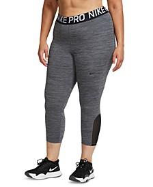 Plus Size Pro Cropped Leggings
