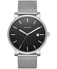 Men's Hagen Stainless Steel Mesh Bracelet Watch 40mm