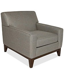 "Effie 35"" Fabric Chair, Created for Macy's"