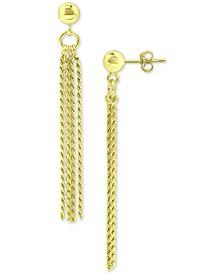 Tassel Drop Earrings, Created for Macy's