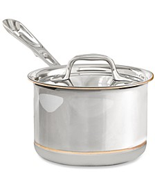 Copper-Core 2 Qt. Covered Saucepan