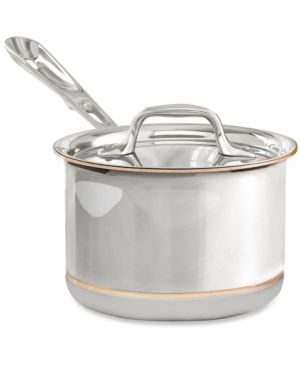 All-Clad Copper-Core 2 Qt. Covered Saucepan 159455