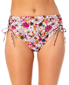 Juniors High Waist Hipster Bikini Bottoms, Created for Macy's
