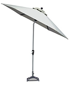 Taft Outdoor 9' Auto-Tilt Umbrella with Sunbrella® Fabric, Created for Macy's