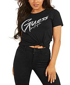 GUESS Genny Sequin-Logo T-Shirt
