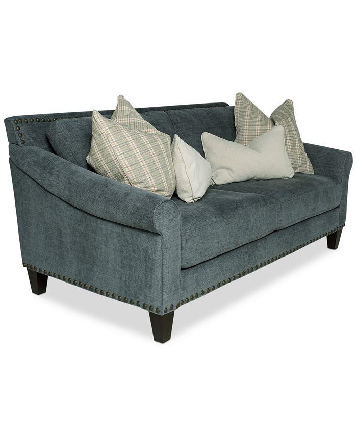 "Furniture - Arold 75"" Fabric Apartment Sofa"