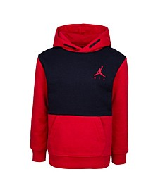 Little Boys Colorblock Fleece Hoodie