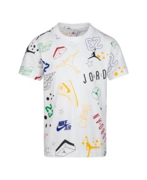 Jordan LITTLE BOYS JUMPMAN LOGO PRINTED T-SHIRT
