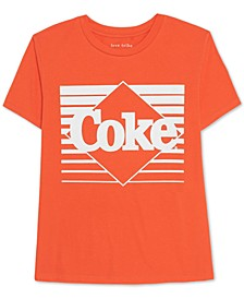 Juniors' Cotton Coke Graphic T-Shirt