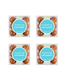 Pumpkin Pie Caramels Small Cube 4 Piece Kit