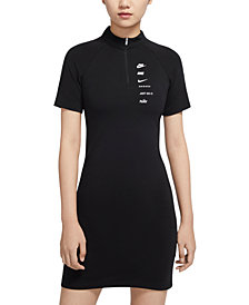 Nike Women's Sportswear Logo Bodycon Dress