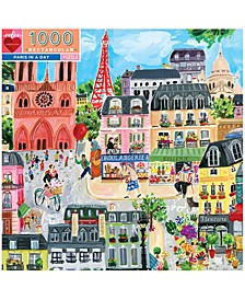 Paris in a Day 1,000-Pc. Puzzle