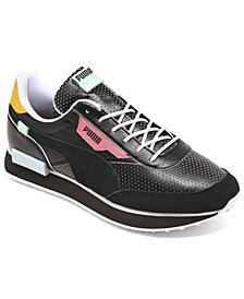 Puma Men's Future Rider Play On Running Sneakers from Finish Line