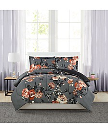 Manilla Floral Twin 3-Pc. Comforter Set