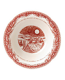Johnson Bros. Twas the Night Soup/Cereal Bowl