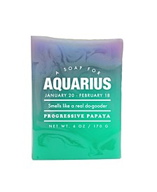 Aquarius Astrology Soap, 6 oz