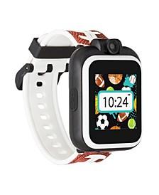 Kid's Playzoom 2 Football Print Tpu Strap Smart Watch 41mm